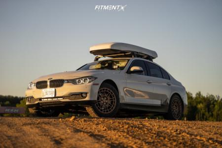2014 BMW 328d xDrive - 18x8 35mm - Center Line Pangea - Lifted - 225/55R18