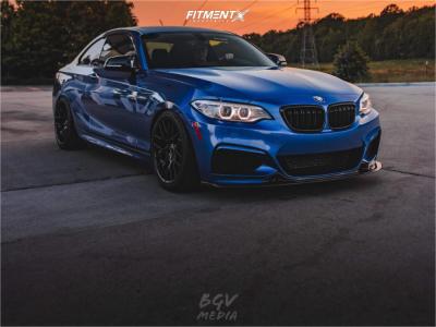 2016 BMW M235i - 18x8.5 35mm - Avant Garde M359 - Coilovers - 335/40R18