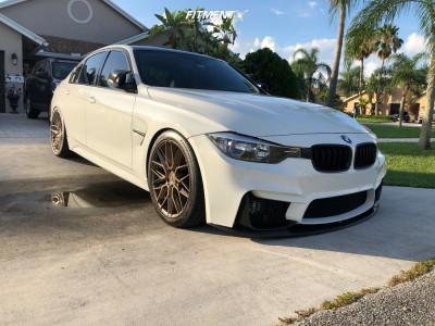 2015 BMW 320i - 19x8.5 35mm - Niche Gamma - Lowering Springs - 245/40R19