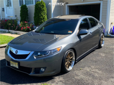 2009 Acura TSX - 18x8.5 35mm - Aodhan Ds07 - Coilovers - 225/35R18
