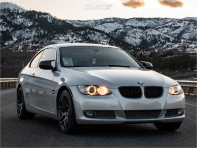 2010 BMW 335i xDrive - 18x8.5 30mm - ESR Rf1 - Lowering Springs - 235/40R18