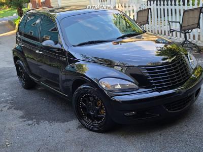2003 Chrysler PT Cruiser - 18x8.5 35mm - Aodhan Ds01 - Stock Suspension - 225/40R18