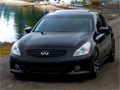 2010 Infiniti G37 - 19x9.5 35mm - ESR SR12 - Coilovers - 245/40R19