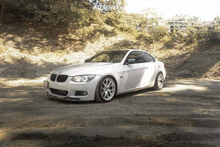2012 BMW 335i xDrive - 18x9 30mm - ESR Rf2 - Coilovers - 235/45R18