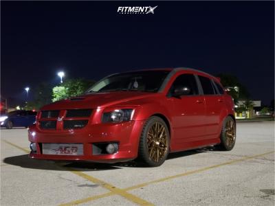 2008 Dodge Caliber - 19x8.5 35mm - Rohana Rfx10 - Coilovers - 245/40R19