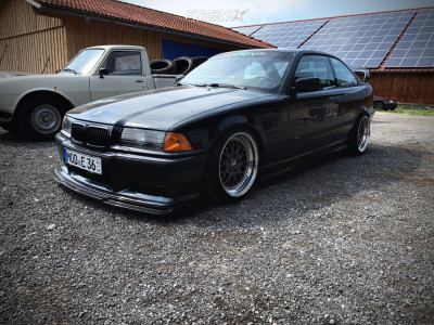 1992 BMW 325i - 17x9 15mm - Mille Miglia MM2000 - Coilovers - 215/40R17