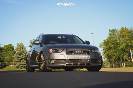 2015 Audi allroad - 20x10.5 40mm - Niche Methos - Coilovers - 295/25R20