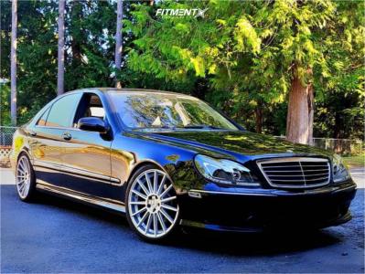 2006 Mercedes-Benz S500 - 20x8.5 35mm - Road Force Rf15 - Air Suspension - 245/35R20