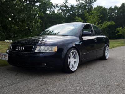 2005 Audi A4 Quattro - 18x9.5 35mm - ESR Sr07 - Coilovers - 225/40R18