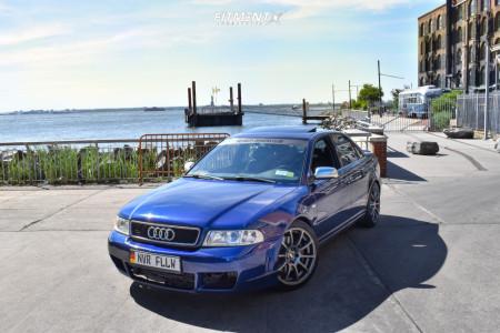 2001 Audi S4 - 18x8.5 35mm - VMR V701 - Lowering Springs - 225/40R18