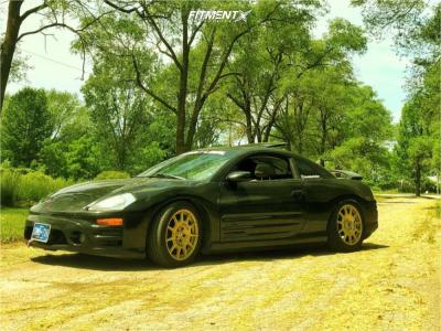 2003 Mitsubishi Eclipse - 17x7.5 40mm - Sparco Terra - Coilovers - 225/45R17