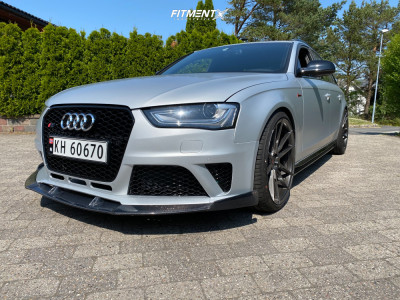 2014 Audi S4 - 20x10 40mm - Japan Racing Jr21 - Lowering Springs - 265/30R20