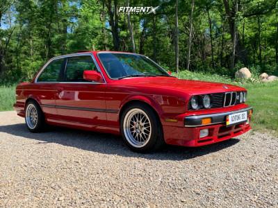 1986 BMW 325es - 16x8 35mm - Varrstoen Es1 - Lowering Springs - 205/50R16