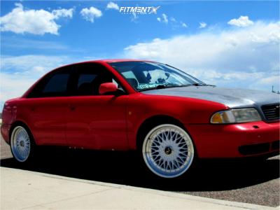 1998 Audi A4 Quattro - 18x8.5 30mm - JNC Jnc004 - Coilovers - 225/40R18