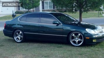 1998 Lexus GS300 - 19x9 38mm - Rays Engineering CS Arthur Exchange - Lowered Adj Coil Overs - 285/30R19