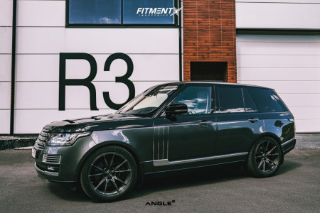 2017 Land Rover Range Rover - 22x10.5 35mm - ANGLE A1-S180 - Stock Suspension - 285/40R22