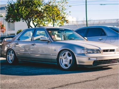 1994 Acura Legend - 18x8 41mm - Lowenhart X/Position D-01 - Coilovers - 225/40R18