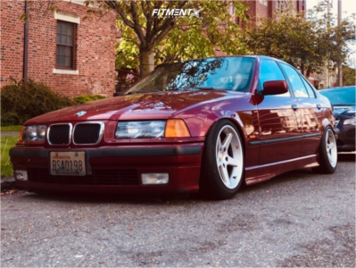 1997 BMW 328i - 16x7.5 35mm - Mille Miglia MM11 - Coilovers - 195/50R16