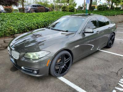 2014 BMW 528i xDrive - 20x9 20mm - Rohana Rc8 - Stock Suspension - 245/35R20