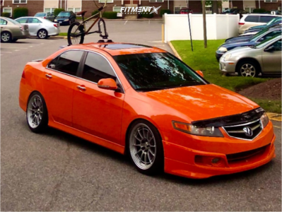 2006 Acura TSX - 18x9.5 40mm - Enkei NT03M - Coilovers - 255/35R18