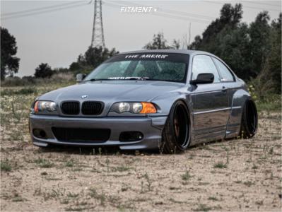 2000 BMW 323Ci - 19x12 -3mm - Carline Nw9 - Air Suspension - 245/35R19