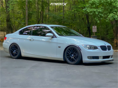 2010 BMW 335i xDrive - 17x7.5 42mm - Drag Dr37 - Coilovers - 225/45R17