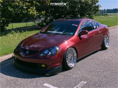 2003 Acura RSX - 18x9.5 15mm - Aodhan Ah03 - Coilovers - 205/40R18