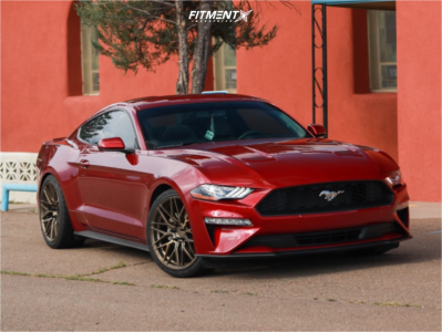 2019 Ford Mustang - 20x9 35mm - F1R F103 - Lowering Springs - 255/35R20
