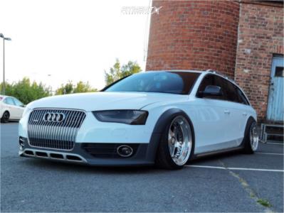 2013 Audi A4 allroad - 19x11 3mm - OZ Racing Futura - Air Suspension - 255/30R19