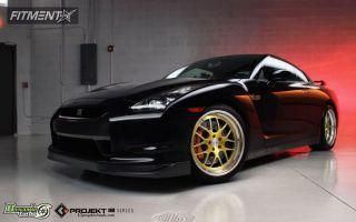 2010 Nissan GT-R - 20x9.5 15mm - K3 Projekt IND Series - K37 - Stock Suspension - 245/40R20