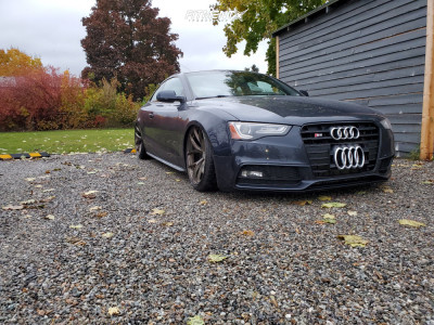 2016 Audi S5 - 20x10.5 30mm - BC FORGED RZ21 - Air Suspension - 285/30R20