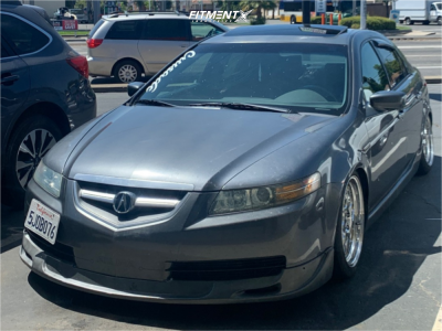 2004 Acura TL - 18x8.5 35mm - Aodhan Ds01 - Coilovers - 225/45R18