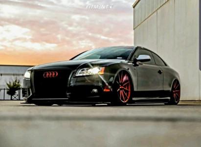 2011 Audi S5 - 20x10 33mm - Rohana Rf1 - Air Suspension - 275/35R20
