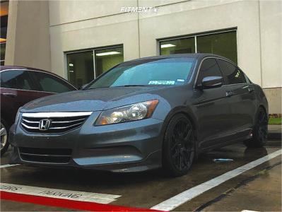 2011 Honda Accord - 19x8.5 35mm - Inovit Thrust - Lowering Springs - 225/35R19