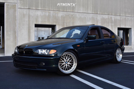2003 BMW 330i - 18x9 30mm - STR 601 - Coilovers - 235/40R18