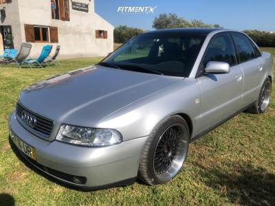 1999 Audi A4 - 18x9 35mm - BBS Rs - Coilovers - 225/40R18