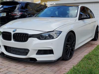 2017 BMW 320i - 19x8.5 35mm - TSW Sebring - Lowering Springs - 235/35R19
