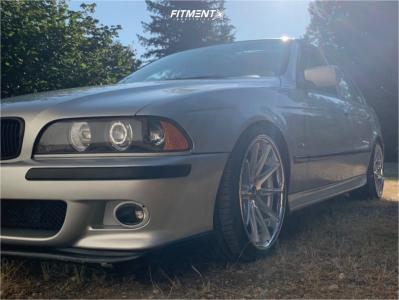 2001 BMW 530i - 19x9.5 20mm - Rohana Rc10 - Lowering Springs - 245/35R19