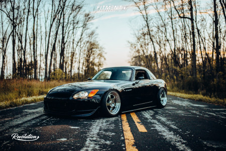 2001 Honda S2000 - 17x9 28mm - CCW Lm5t - Coilovers - 205/40R17