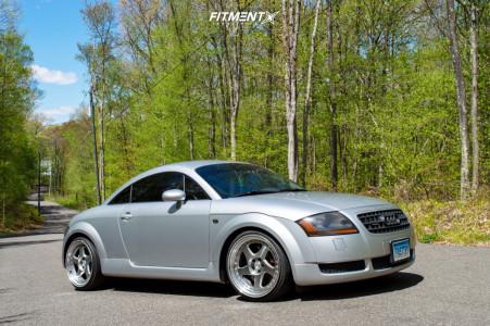 2006 Audi TT Quattro - 18x9.5 30mm - Aodhan Ah01 - Coilovers - 235/40R18