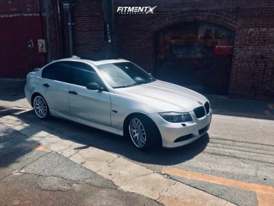 2007 BMW 3 Series - 18x8.5 40mm - Drag Dr37 - Stock Suspension - 225/40R18