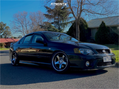 2007 Ford Falcon XR6 - 18x10 18mm - Work Gt5 - Coilovers - 235/40R18