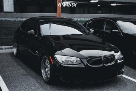 2011 BMW 335is - 19x8.5 30mm - ESR Sr05 - Coilovers - 225/35R19