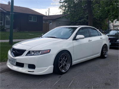 2004 Acura TSX - 18x9.5 30mm - Aodhan Ds01 - Coilovers - 225/40R18