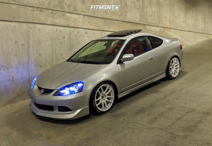 2005 Acura RSX - 18x8.5 35mm - Vors Tr4 - Coilovers - 215/40R18