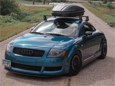 2003 Audi TT Quattro - 18x8.5 35mm - Rotiform Ccv - Coilovers - 225/40R18