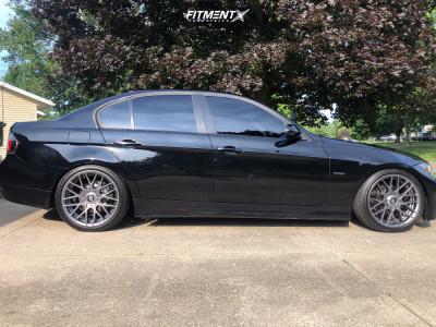 2006 BMW 325xi - 18x8.5 35mm - Rotiform Rse - Coilovers - 225/40R18