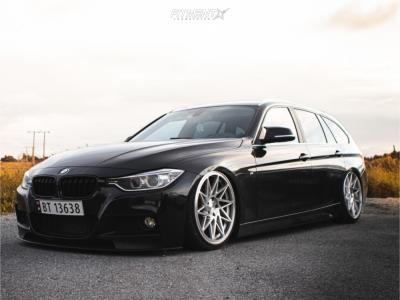 2014 BMW 328d - 20x8.5 35mm - Veemann V-FS 35R - Air Suspension - 225/35R20