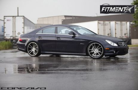 2009 Mercedes-Benz CLS550 - 20x9 20mm - Concavo Wheels CW-S5 - Lowered Adj Coil Overs - 255/30R20
