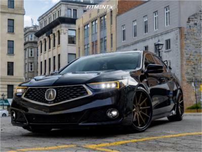 2019 Acura TLX - 20x10 45mm - Ferrada Fr4 - Coilovers - 255/35R20